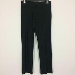 BCBGMaxAzria Womens 0 Black Flat Front Dress Pants